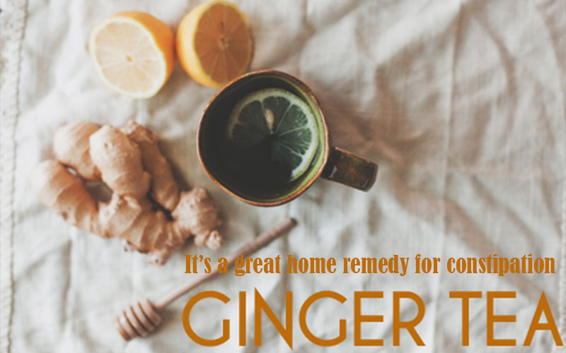 Ginger tea_for constipation