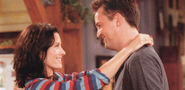 Image result for matthew perry slave courteney cox