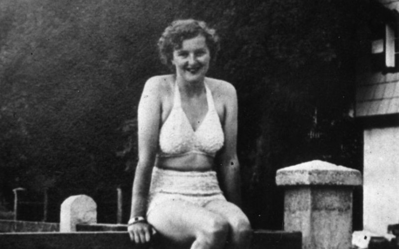 Eva Braun...circa 1940: Eva Braun (1910 - 1945) mistress of Adolf Hitler and later his presumed wife. (Photo by Keystone/Getty Images)