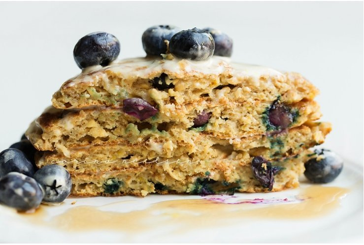 high-calorie-food-blueberry-protein-cake